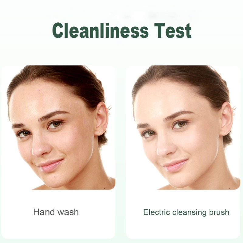 Multifunction Electronic Face Facial Cleansing Brush Spa Skin Care Massager enlarge