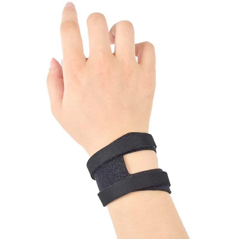 1 пара спортивные обхватывает запястье браслет анти-растяжение наручей Йога тонкие дышащие баскетбольные носки Фитнес обхватывает запясть...
