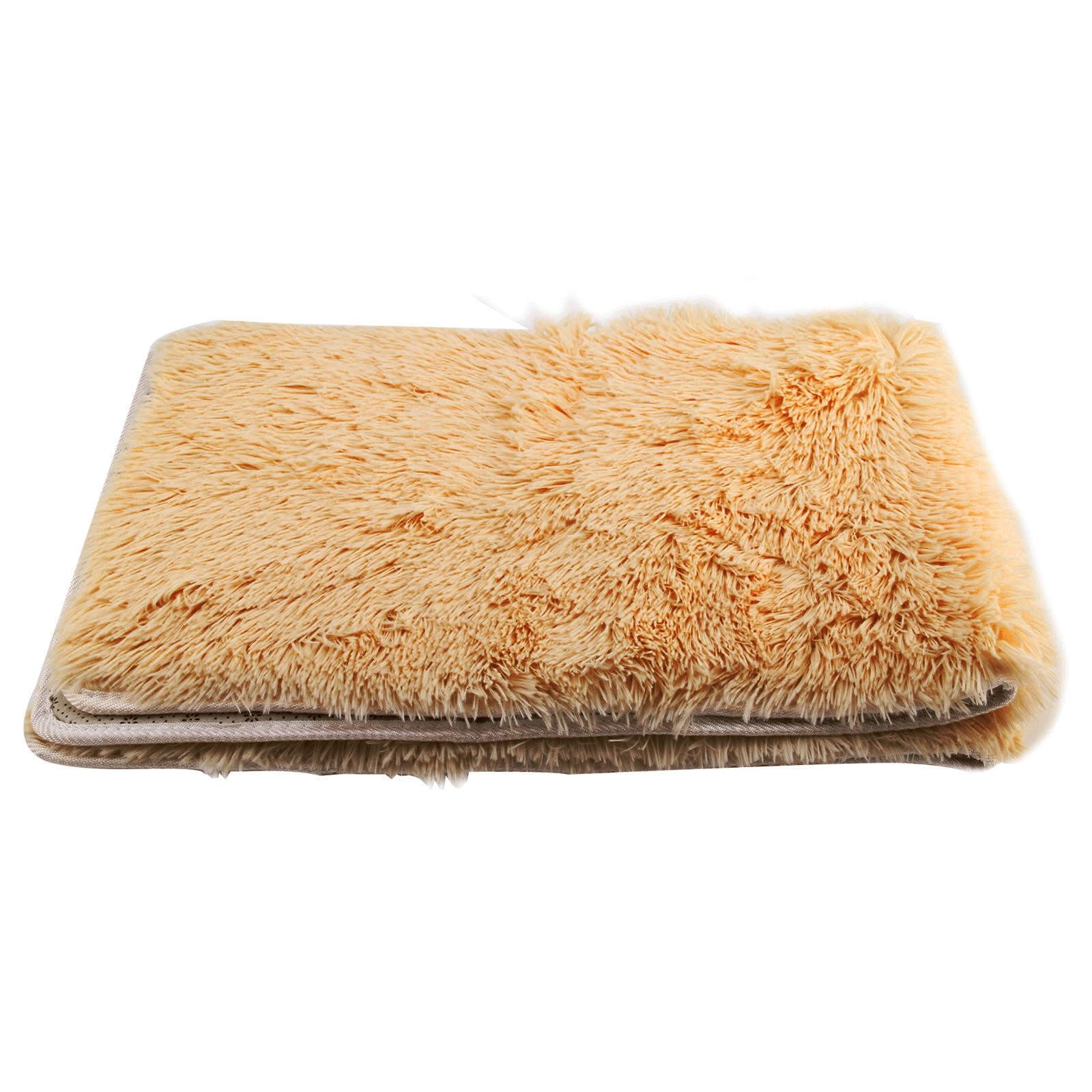 Alfombra de área peluda mullida antideslizante rosa, alfombra de Yoga, Alfombra de dormitorio, Alfombra de comedor, Alfombra de piso textiles para el hogar