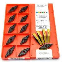 50pcs VNMG160408 PM 4225 External turning tool High quality carbide insert CNC turning insert VNMG160408 PM4225
