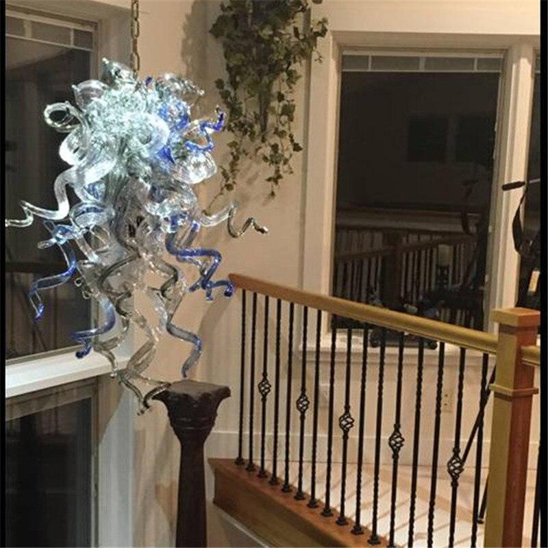 Murano Glass Art Christmas Decoration chandelier Lights Modern Led Chandeliers Ceiling Lamp