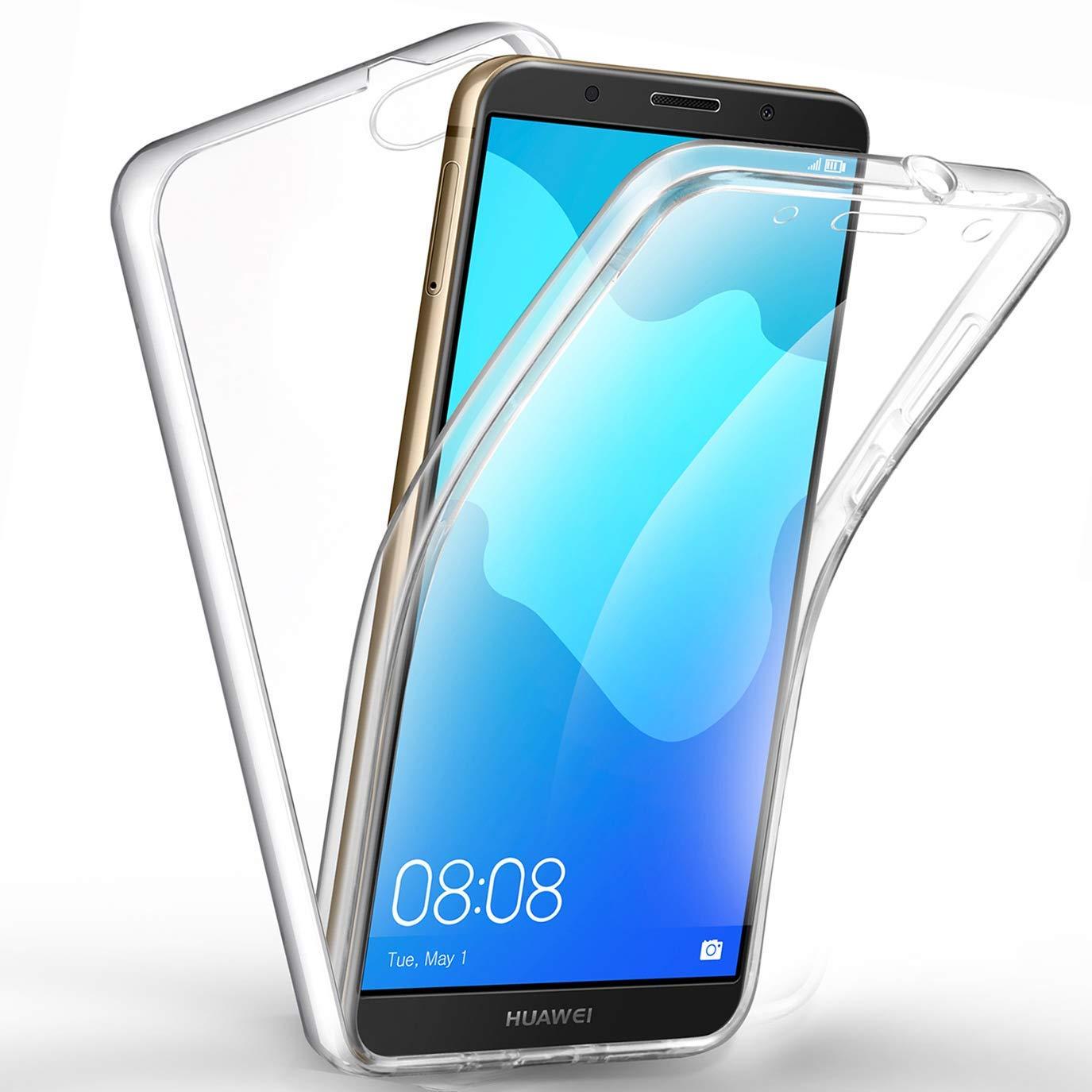 360 Degree Case for HUAWEI Nova 3 3i 2i P30 P20 P8 Lite 2017 Y7 Y9 Y6 Y5 Prime 2018 Honor 7S 7A 7C P Smart 2019 Plus Soft Cover
