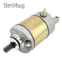 9 teeth alloy starting motor aluminum motorcycle starter suitable for flyshen linhai 250cc and 300cc scooters and atv engines