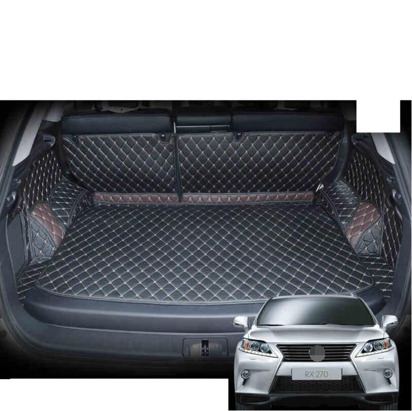 for lexus rx rx270 rx350 leather car trunk mat 2008 2009 2010 2011 2012 2013 2014 2015 cargo liner rug carpet boot