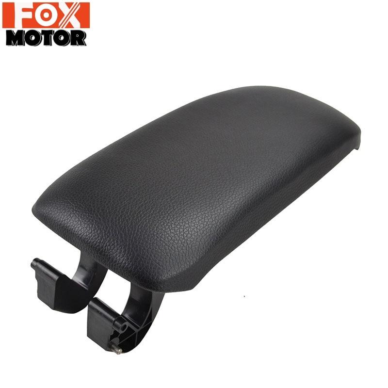 Para audi a3 8p 2003 - 2012 apoio de braço trava capa console central braço resto caixa de armazenamento tampa do carro almofada