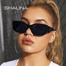 SHAUNA Updated Metal Hinge Fashion Cat Eye Women Sunglasses Vintage Brand Designer UV400 Men Glasses