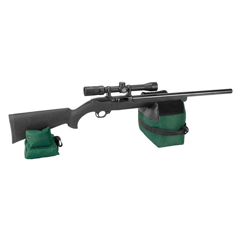 AISPORT bolsa de apoyo de pistola trasera portátil de tiro conjunto de Rifle delantero y trasero objetivo banco de caza sin relleno accesorios de pistola de caza