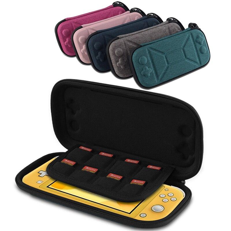Funda portátil Switch Game Pack para Nintendo Switch Lite bolsa de almacenamiento Estuche de transporte para Nintendo Switch consola de viaje bolsas duras