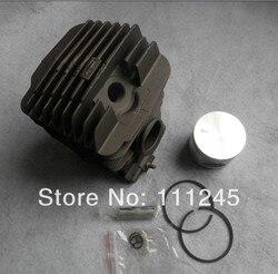029 cilindro kit 46mm para motosserra stihl ms290 2 tempos serra de corrente conjunto zylinder com pistão anel conjunto pino clipes assy cromo