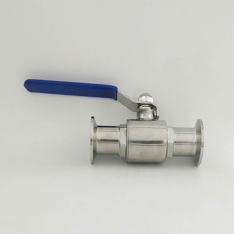 1 25mm 304 Stainless Steel Sanitary Ball Valve 1.5 Tri Clamp Ferrule Type For Homebrew Diary Product a set 38 51 63 76 89 102 pipe o d sanitary tri clamp weld ferrule tri clamp silicon gasket 304 stainless steel for homebrew