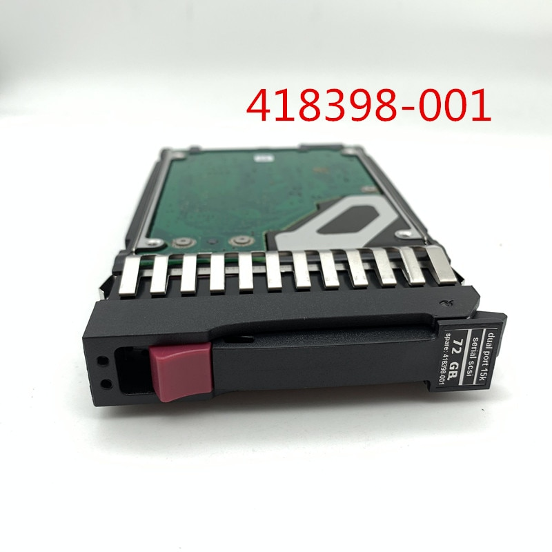 100% nuevo en caja 3 años de garantía 418398-001 73G 15K 2,5 SAS 72G 418371-B21 necesita más ángulos de fotos, póngase en contacto conmigo