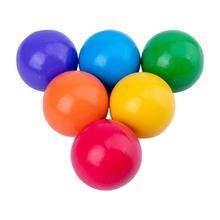 6 pièces en bois boules arc-en-ciel enfants jouets drôles jouets dapprentissage précoce blocs de construction jouets éducatifs pour les enfants de magasin à domicile