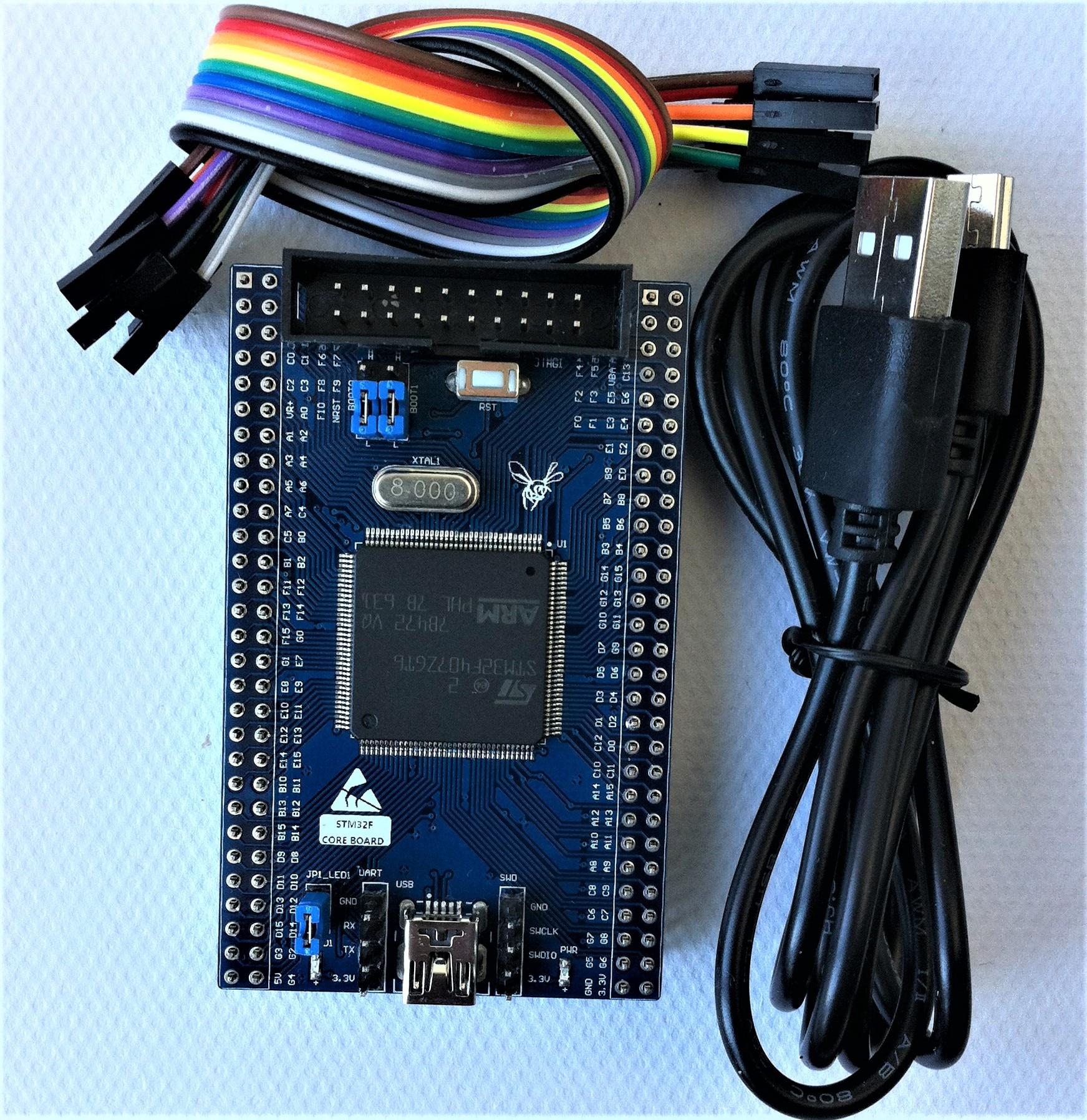 STM32F407 الأساسية مجلس الحد الأدنى لنظام STM32F407ZGT6 تطوير مجلس STM32F407ZG