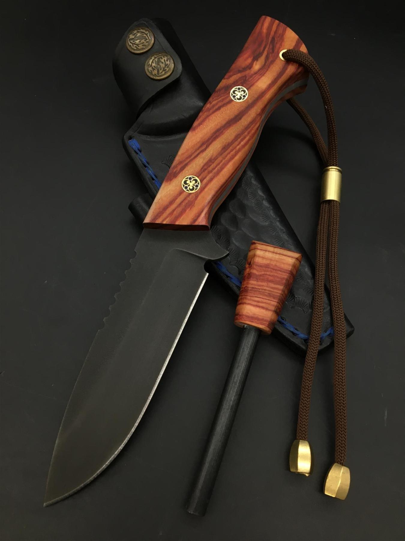 Handmade Uddeholm Sleipner Knife TK83