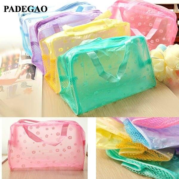 PADEGAO Cosmetic Bag Travel Package Household Toiletries Multifunction Bag Bathing Waterproof Pouch