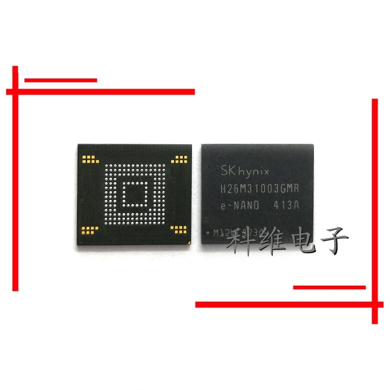 1 шт./лот H26M31003GMR 153 жесткий мяч emmc 4G мобильный телефон IC чипы хранения персонажа U диск