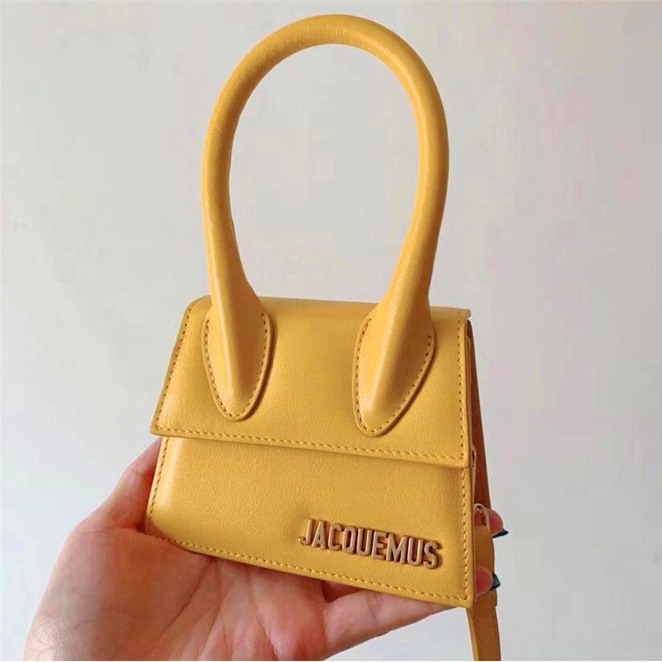 Women Mini Tote Bag 2020 New Flip Messenger Crossbody Bag Female Simple Shoulder Bag Small Square Lady Handbag, 6 Colors