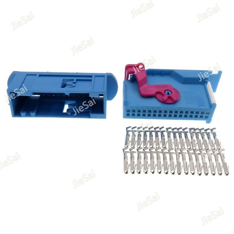 32 Pin ECU Automotive Plug Female Male 1719057-2 1719058-2 Tyco Amp TE Connectivity Auto Header Car Connector