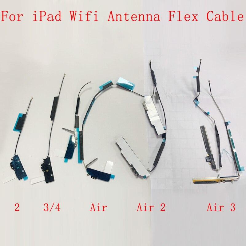 Señal antena Wifi Antenna Flex Cable para iPad 2 3 4 2...
