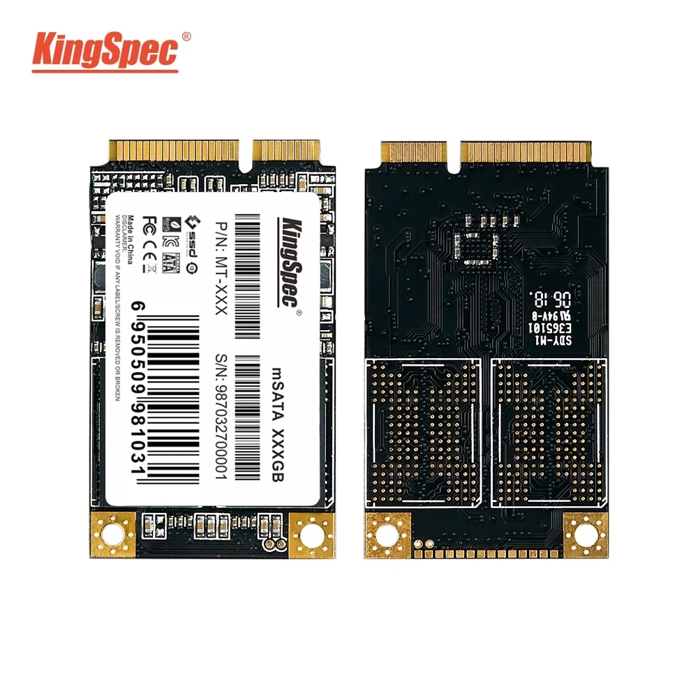 كينج سبيك mSATA SSD أقراص بحالة صلبة قرص صلب SATA III 128gb 256gb 512gb 1 تيرا بايت وسيط تخزين ذو حالة ثابتة/ القرص الصلب hdd لأجهزة الكمبيوتر المحمول