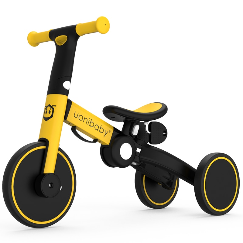 Children's balance bike bicycle 2-in-1 toddler tricycle trolley bicycle 1-3-5 years old