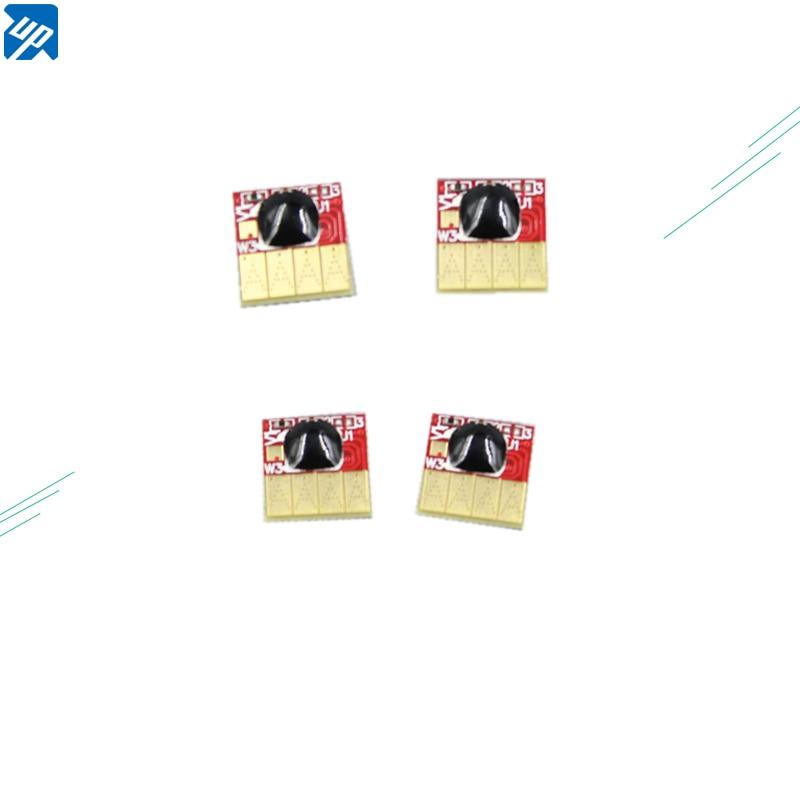 4 Uds permanente chip compatible para HP178 178 xl B010 B010B B109a B109n B110a B210b 3070A para ciss/cartucho de tinta rellenable