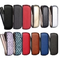 18 colors bling style wood crocodile case for iqos 3 0 cover protective case iqos 33 duo leather pouch carrying bag accessories