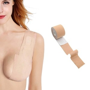 1 Roll 5M Women Breast Nipple Covers Push Up Bra Body Invisible Breast Lift Tape Adhesive Bras Intimates Sexy Bralette Pasties