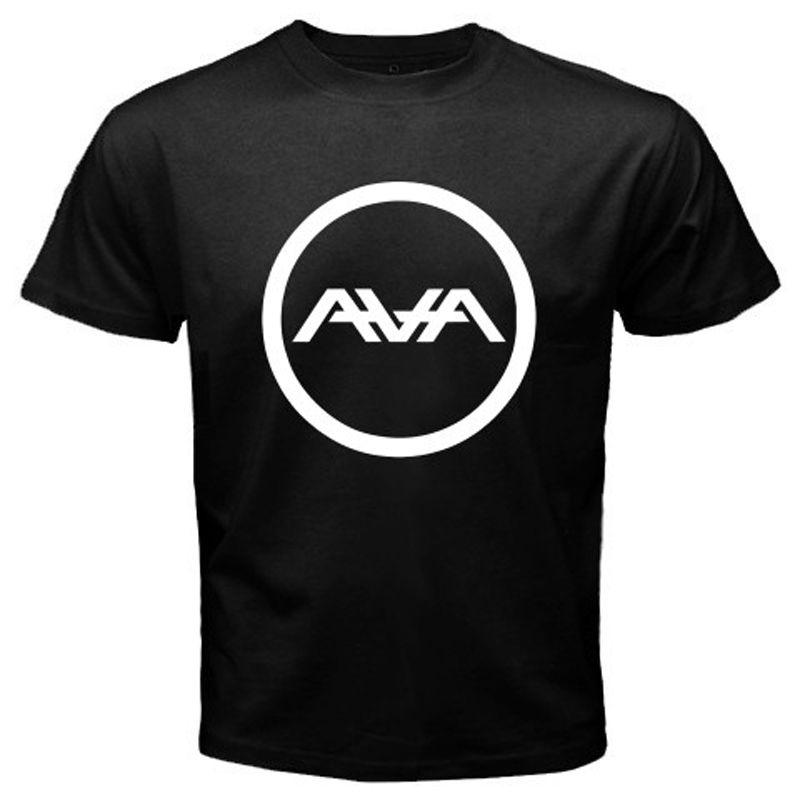 Новая мужская черная футболка AVA Angels & Airwaves Rock Band, размеры S-3XL, летняя Стильная мужская футболка в стиле хип-хоп, топы, базовые модели