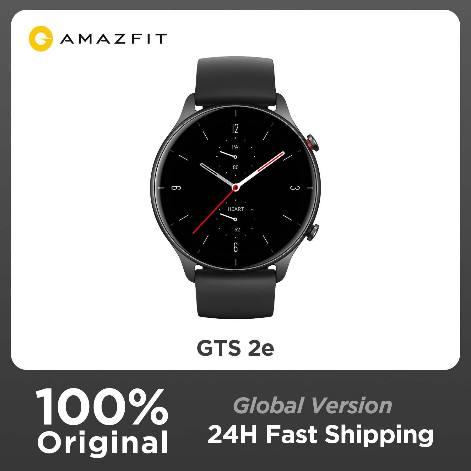 Review Original Amazfit GTS 2e Smartwatch Alexa Built-in 90 Sports Modes GPS intelligent Smart Watch for Men Women Android iOS Phone