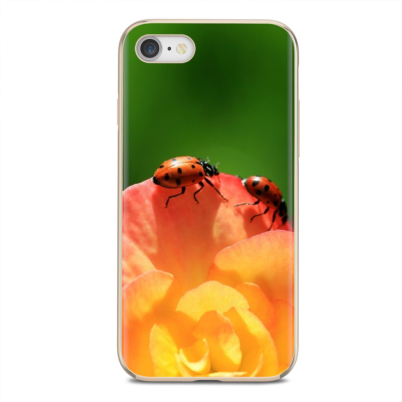 Macro Ladybird 2 Silicone Phone Bag Case For BQ Aquaris C U2 U V X2 X Lite Pro Plus E4.5 M4.5 X5 E5 4G M 2017