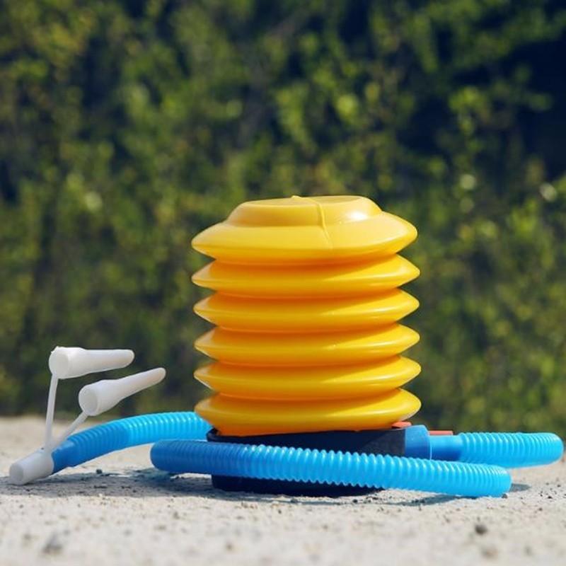 Bomba de pie bomba de aire globo inflador bomba de aire Bola de Yoga Inflador de pie máquina de presión de bicicleta accesorios uno Multi- propósito