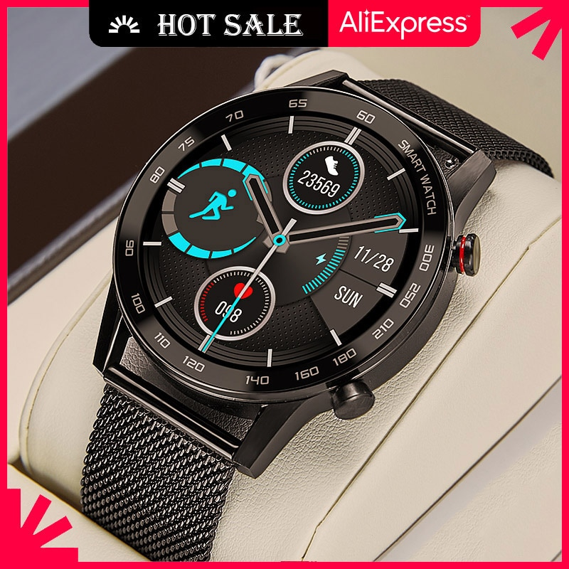 Smart Watch Men 2021 Business Bluetooth Call Smartwatch IP68 ECG Reloj Inteligente For IOS Android Iphone Huawei