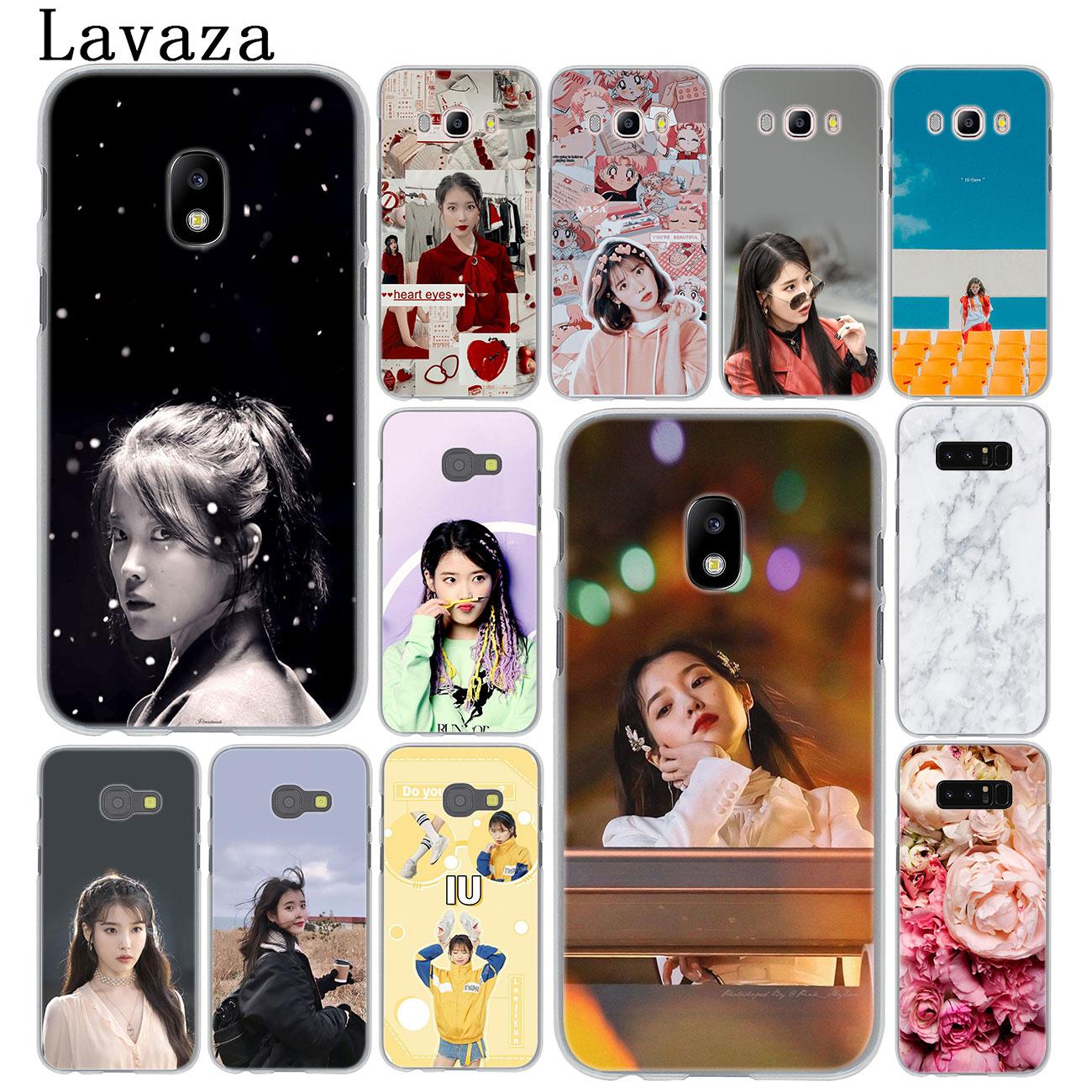 Iu papel tapiz POP funda de teléfono para Samsung Galaxy J8 J7 Duo J6 J5 J4 Plus 2018 2017 2016 2015 J2 J3 Prime UE EE. UU.