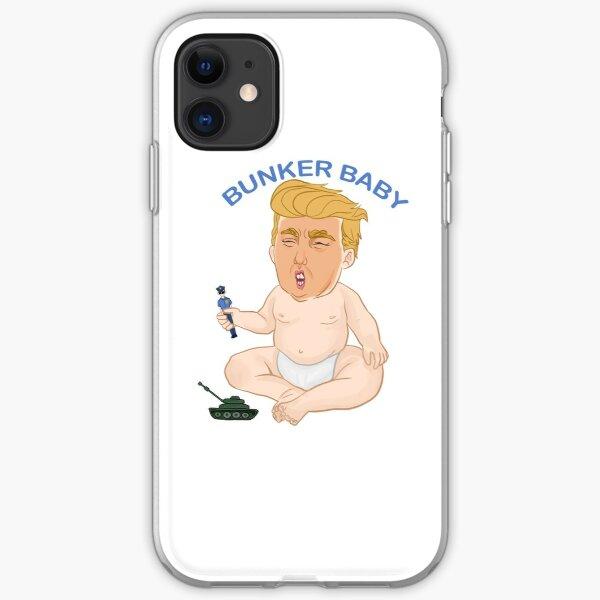 Bunker bebé Trump estuche transparente para iPhone X XSMAX XR 11 Pro Max caso para iPhone 6 6s 5 5s 7 8 iphone 7plus caso