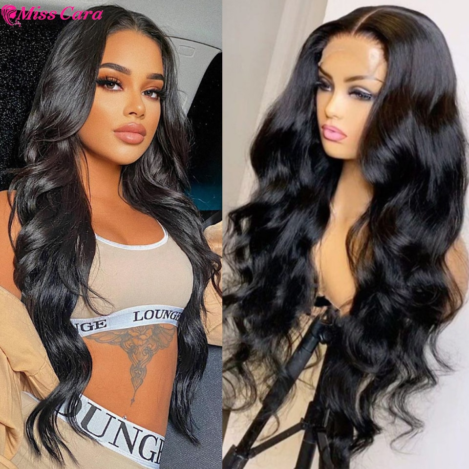 Body Wave T Part Lace Front Wig 4x4 Lace Closure Wig Pre Plucked Invisible Knot Human Hair Wig 5X5 Lace Closure Human Hair Wigs
