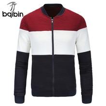 2021 New Spring Jaqueta Masculina Fashion Mandarin Collar Patchwork Jacket Men Chaqueta Hombre Windb