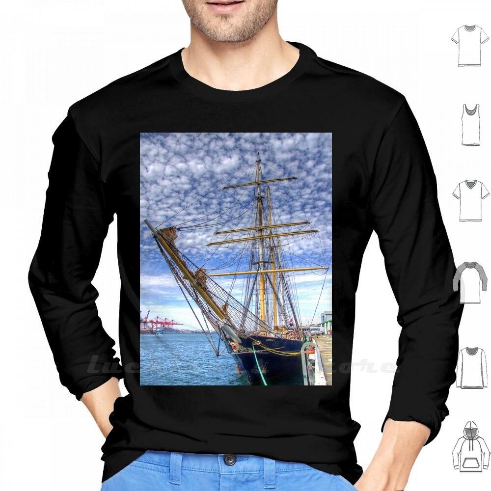 Мужская бейсбольная рубашка с длинными рукавами и принтом «Port Of Fremantle Wa-Hdr» для подростков; Fremantle Perth Western Australia Port Of