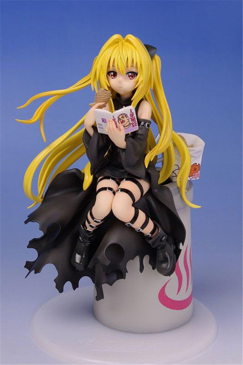 Anime a la oscuridad dorada Eve Konjiki no Yami figura de acción chica Sexy juguetes Anime figura muñecas modelo para niños regalos para niños