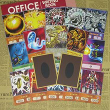 20 pièces/ensemble Yugioh Yami Marik Style Anime Deck cartes principales relance confiture ailé Dragon de Ra Yugioh classique antagoniste Cosplay carte