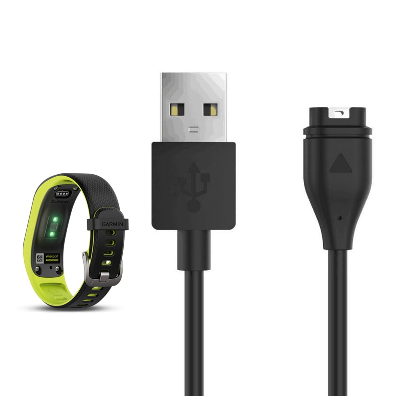 USB Cable de datos de carga rápida Cable de alimentación cargador de alambre para Garmin Fenix 5 Garmin Fenix 5 5S 5X Plus 6 6S 6X Pro reloj inteligente cargador de muelle