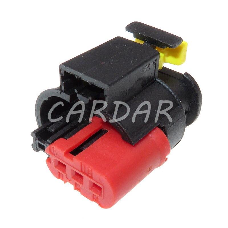 1 Набор 3 Pin 284425-1 Водонепроницаемый автомобильные провода герметичный разъем Сенсор разъем топливный инжектор дизельного топлива части кат...