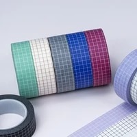 washi tape set colored washitapes decorative masking wrapping paper tape for wrapping gifts crafts scrapbooking labeling coding