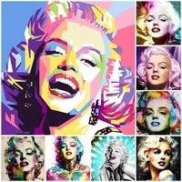 5d diy sexy woman marilyn monroe diamond mosaic picture for adults nordic wall art diamond painting cross stitch kits home decor