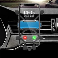 gravity extension car phone holder air vent gps navigation smart phone holder stable and not shaking support mobile phone