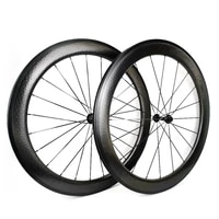700c dimple surface road carbon bicycle wheels 26mm width 58mm depth road bicycle carbon wheelset basalt brake suefaceu shape