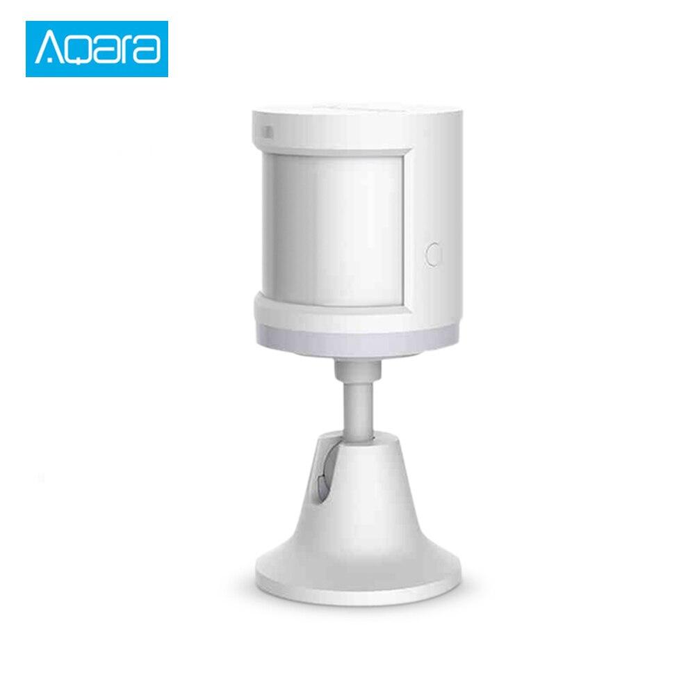 Aqara inteligente movimiento del Sensor del cuerpo de casa inteligente movimiento cuerpo sensores Zigbee Conexión de dispositivo de seguridad