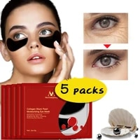 5 pairs collagen remove eye mask patches antis wrinkle antis aging pouch collagen soothing moisturizing wrinkle skin care