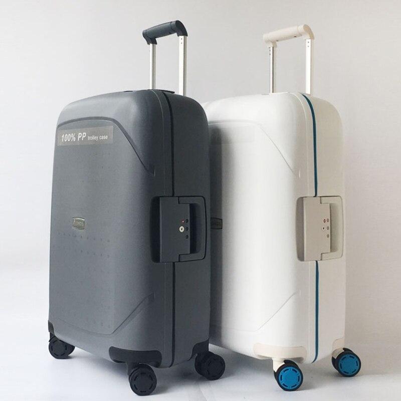 """20 """"24"""" 28 """"pulgadas spinner PP equipaje rodante caja de viaje maleta"""