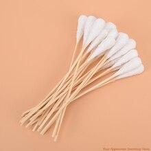 20pcs High quality Women Beauty Makeup Cotton Swab Cotton Buds Make Up Wood Sticks Nose Ears Cleanin